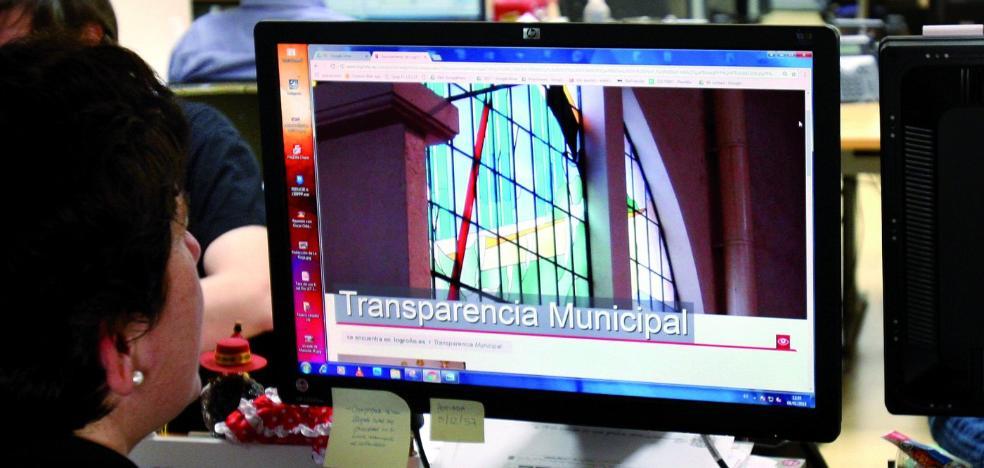 Las visitas al portal de la Transparencia en la página web se incrementan el 72% en un año