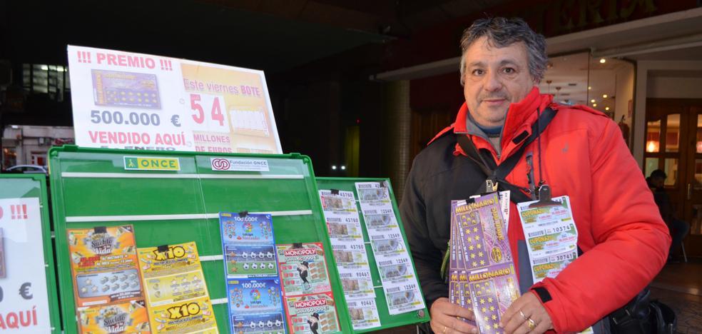 La ONCE reparte 500.000 euros en Calahorra