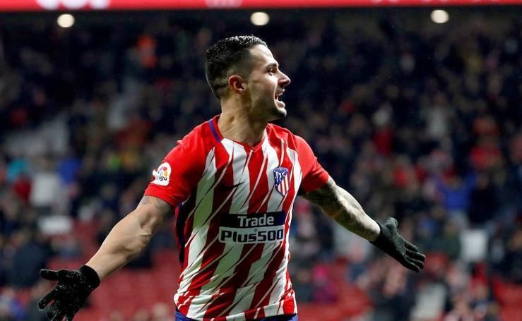 Los mejores momentos del Atlético-Lleida, en imágenes