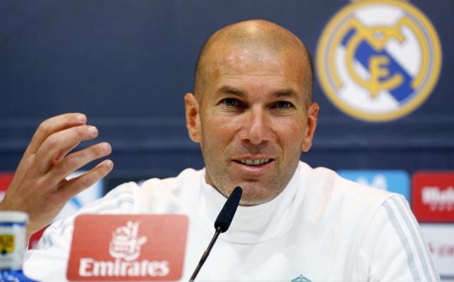 Zidane: «Nunca voy a echar un pulso a mi presidente»