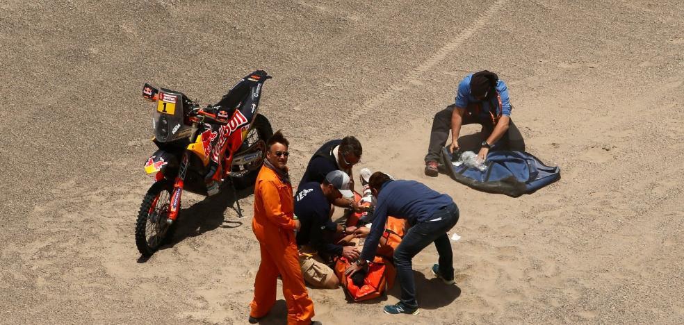 Hecatombe al cuarto día del Dakar