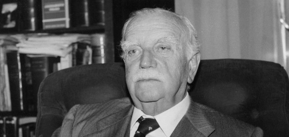 C's de Logroño pide un homenaje a Luis Díez del Corral en el 20 aniversario de su muerte