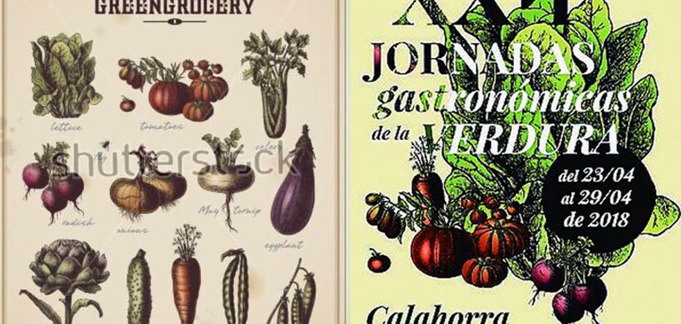 ¿Hay copia en el cartel de la Verdura de Calahorra?