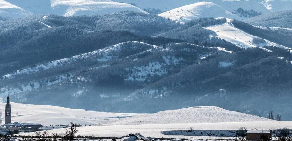 El aviso amarillo por nevadas se activa este jueves para La Rioja
