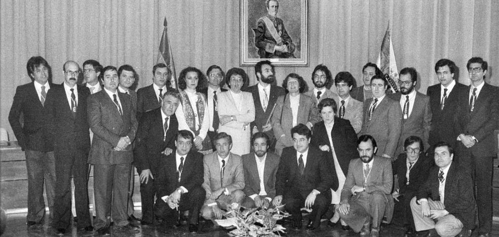 La Retina: corporación logroñesa en 1983