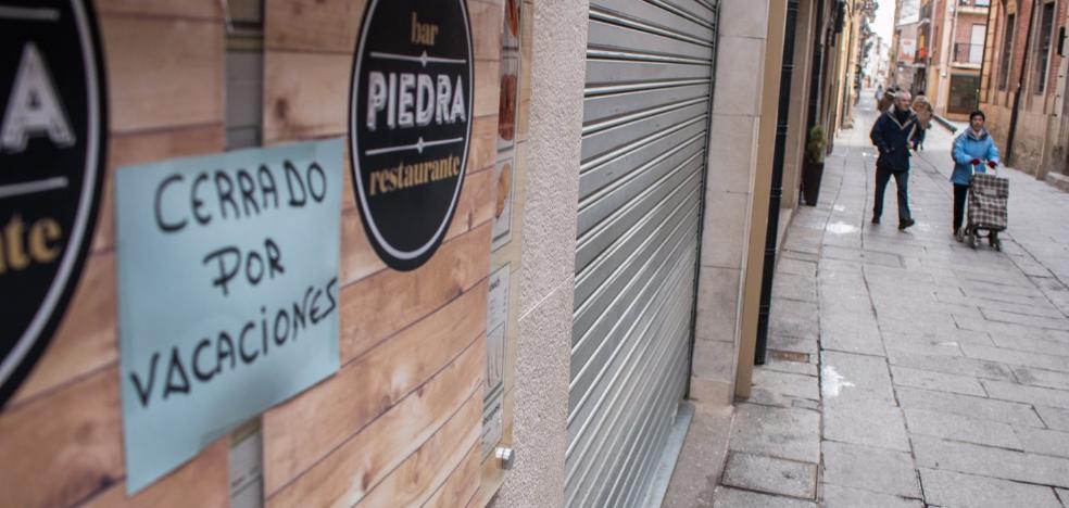 Cuesta y bajón en Santo Domingo