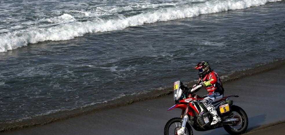 Barreda resucita en el Dakar