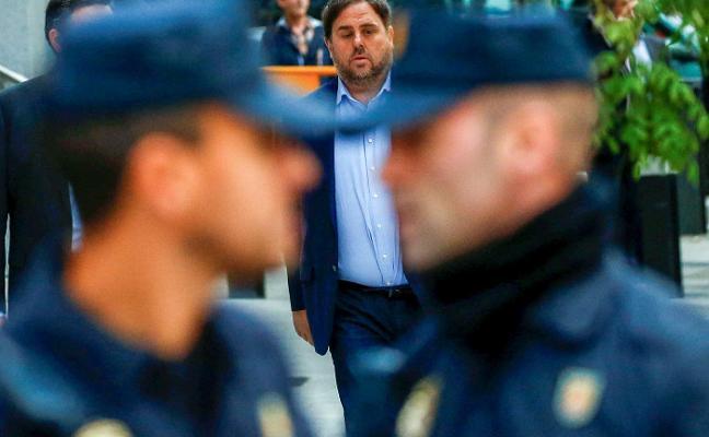 Junqueras pide al juez el traslado a una cárcel catalana para acudir al Parlament