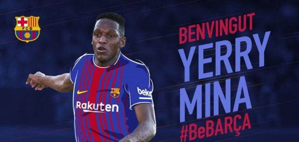 El Barcelona ficha a Yerry Mina