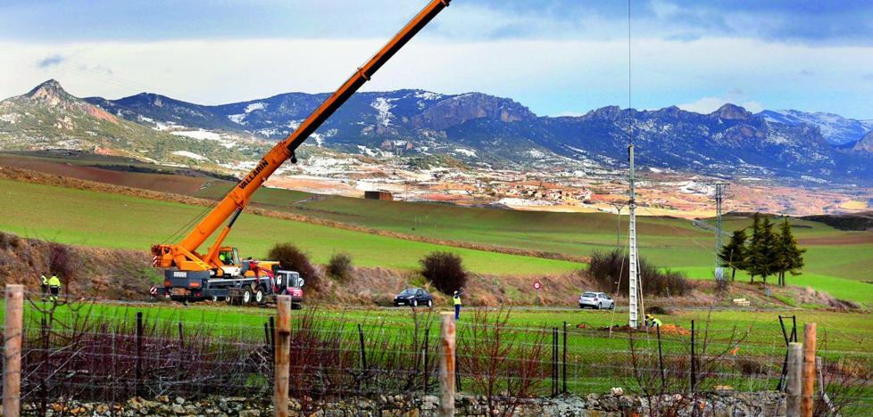 Iberdrola tuvo que traer a La Rioja 18 grupos electrógenos para dar servicio a los usuarios