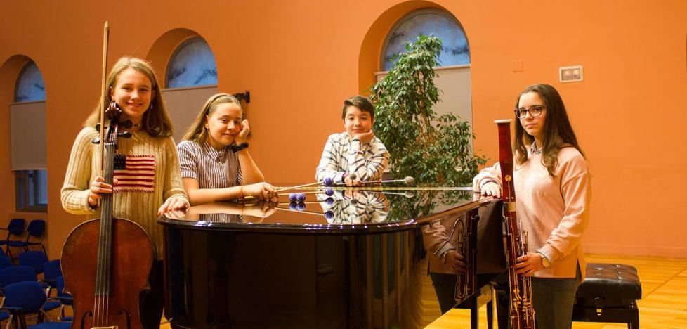Cuatro alumnos del Conservatorio, seleccionados para participar el proyecto Talentos de la Orquesta Sinfónica de Madrid