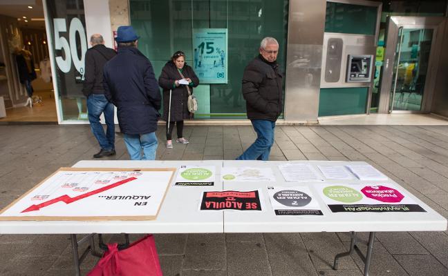 Campaña de la PAH por el alquiler asequible