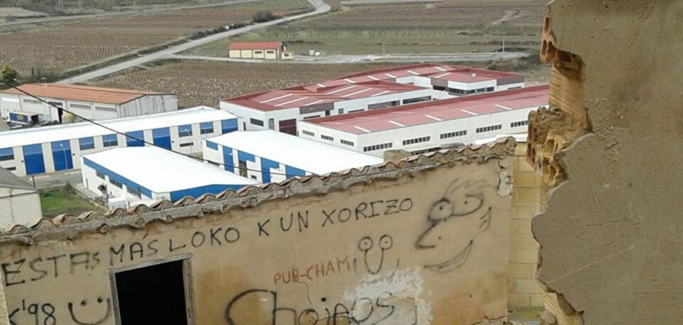 La Guindilla: «Abandonado» este barrio de Entrena
