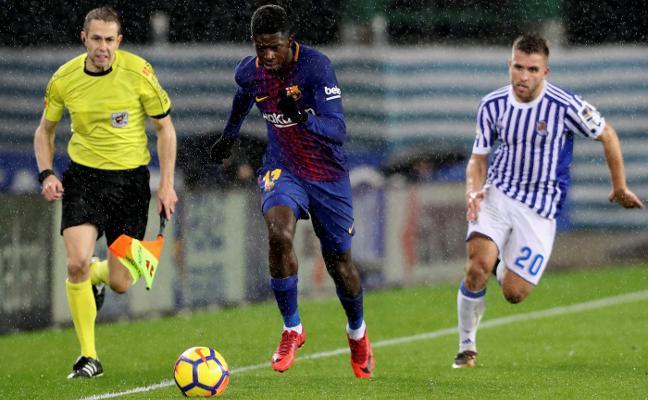 El Barcelona no acusa la nueva baja de Dembélé