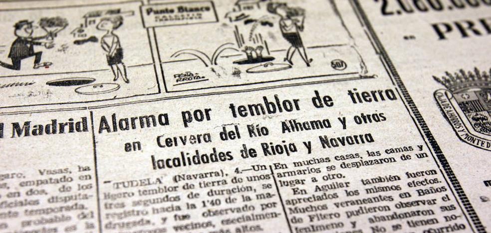 El Colegio de Geólogos imparte una charla sobre terremotos destructivos en La Rioja