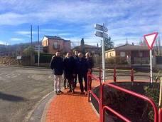 Mejoras en las travesías de Hornos de Moncalvillo y Sotés