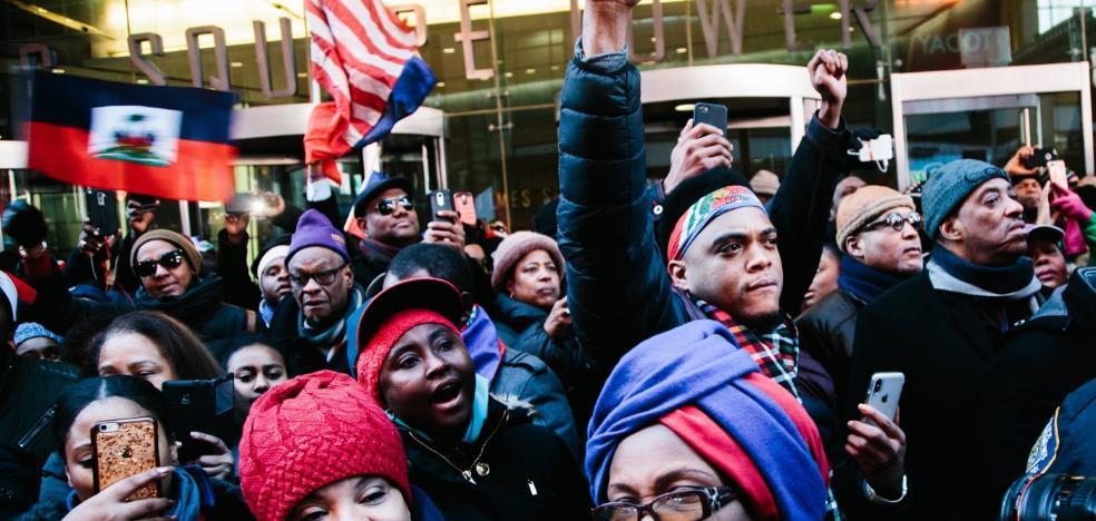 El racismo agrieta la mayoría de Trump