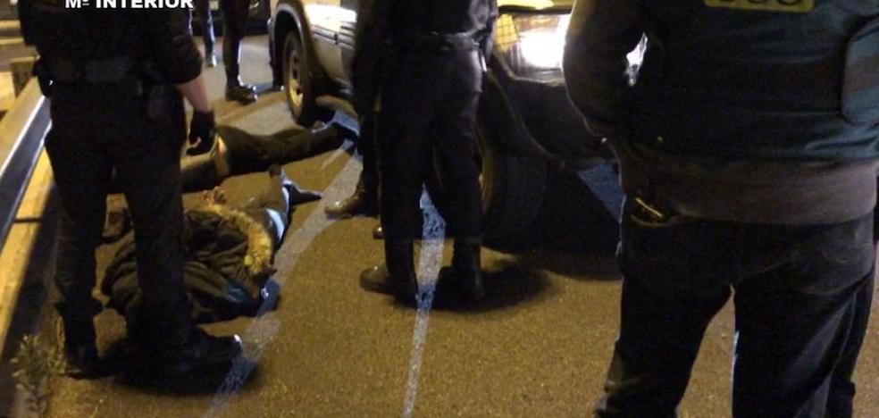 Liberan a un hombre secuestrado en Guipúzcoa por un grupo criminal francés