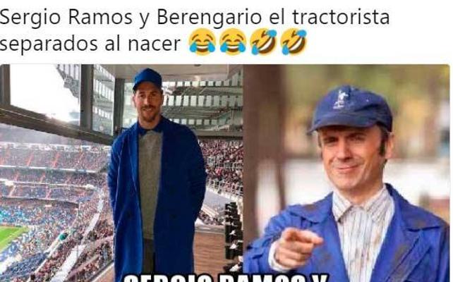 El azul Klein (de la discordida) de Sergio Ramos