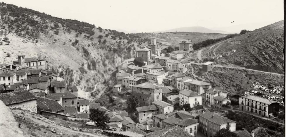 La Retina: vista muy antigua de Ortigosa