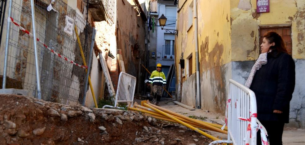 Cuatro familias del casco antiguo han sido desalojadas por el derribo de casas en ruina