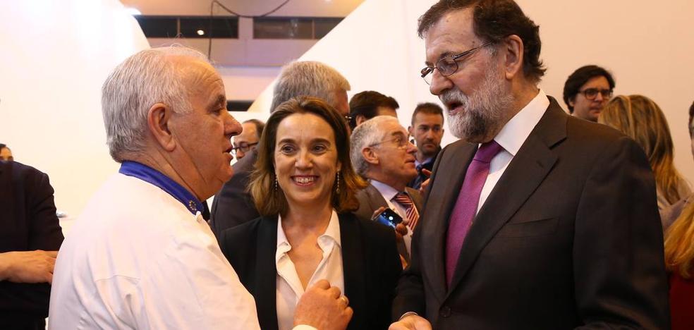 Lorenzo Cañas presenta el pincho 'Bernabé' en Fitur