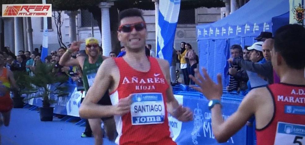 Camilo Santiago, al Mundial de Media Maratón con una plata nacional