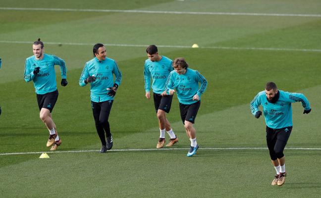 El Madrid recupera a la BBC para su otra Liga