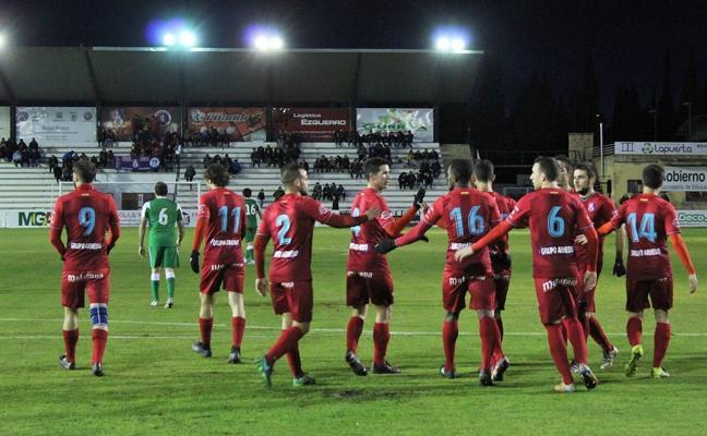 Empate entre Calahorra y Náxara y derrota de la SDL en Alfaro