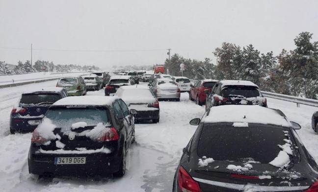 Fomento sancionará a Iberpistas por el colapso de la AP-6 del 6 de enero