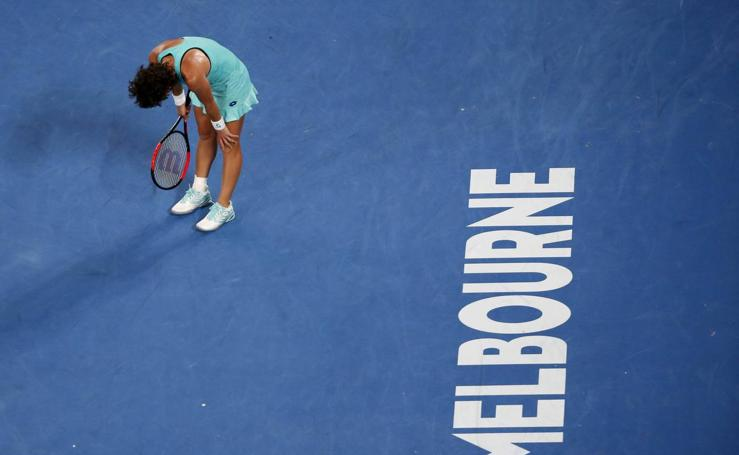Carla Suárez - Caroline Wozniacki, en imágenes