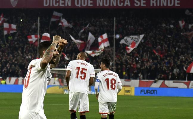 El Sevilla noquea al Atlético de Madrid