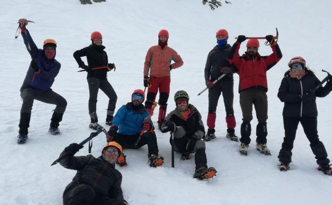 Curso de progresión invernal del club Sampol
