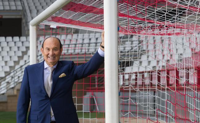 «Estoy tanteando la entrada de Gino Pozzo en el capital de la UD Logroñés»