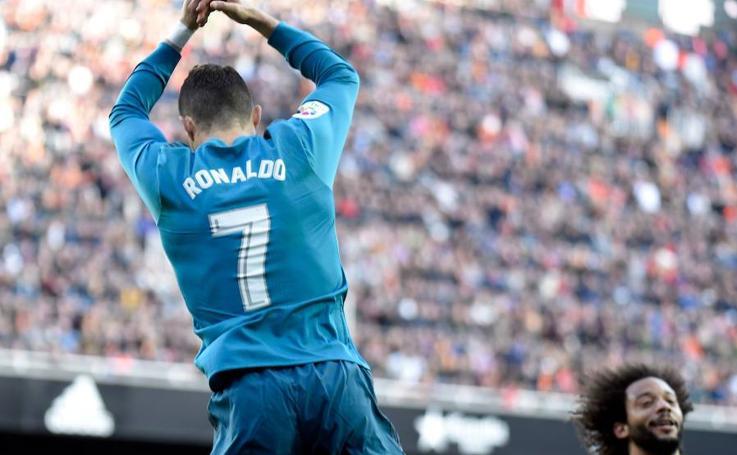 Los mejores momentos del Valencia-Real Madrid, en imágenes