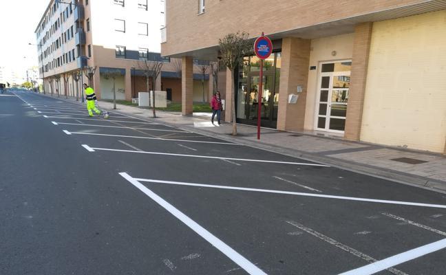 46 nuevos aparcamientos en Fenández Ollero