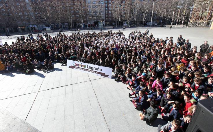 Logroño celebra el Día de la Paz