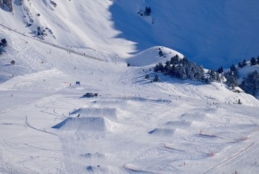 Un oasis para los amantes del snowboard