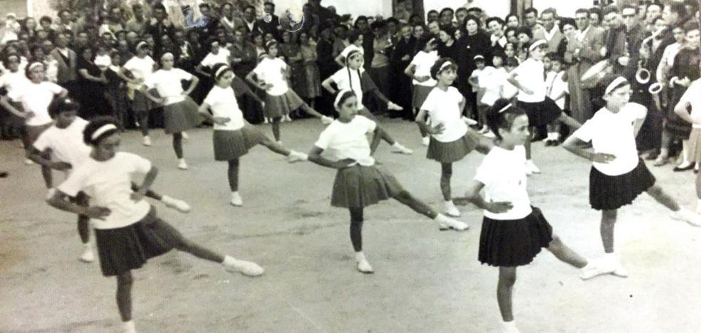 La Retina: exhibición de gimnasia en Azofra