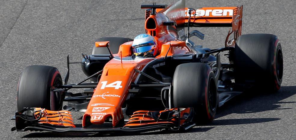 McLaren rodará en Los Arcos