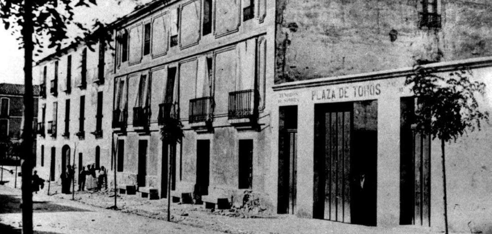 La antigua plaza de toros de Calahorra