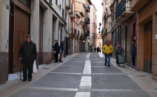 El 'casco', con 7.075 vecinos, alberga el 29% de la población de Calahorra