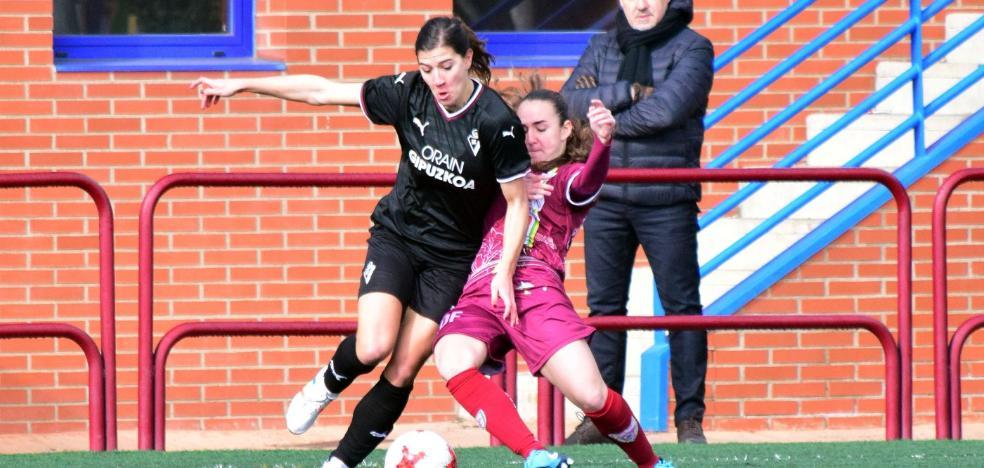 Un gol de Judith hace más líder al EDF Logroño