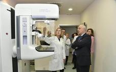 El mamógrafo de Amancio ya funciona en el San Pedro