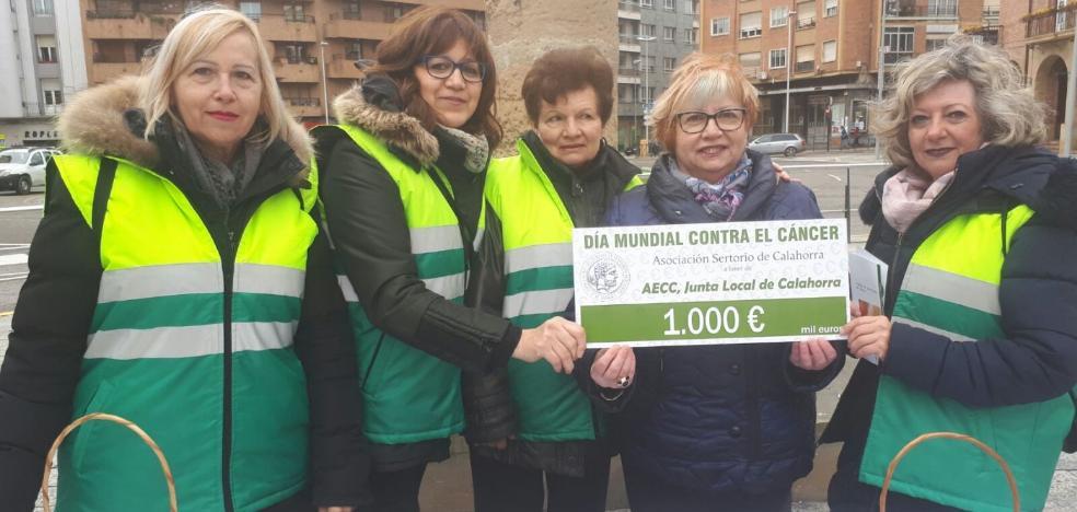 SERTORIO DONA MIL EUROS A LA AECC