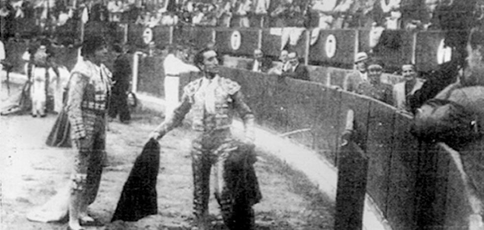 La Retina: Manolete y su peón Cantinflas en Logroño