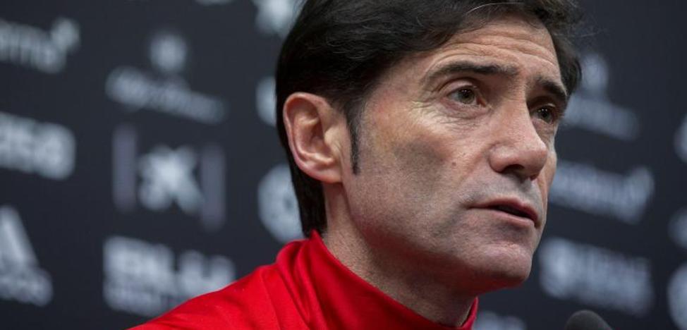 Marcelino: «Hay que ir a 'full' desde el inicio hasta el final»