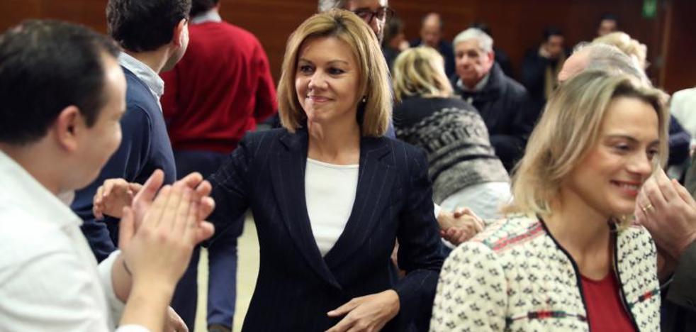 Cospedal descarta la vuelta del servicio militar porque España «no está preparada»