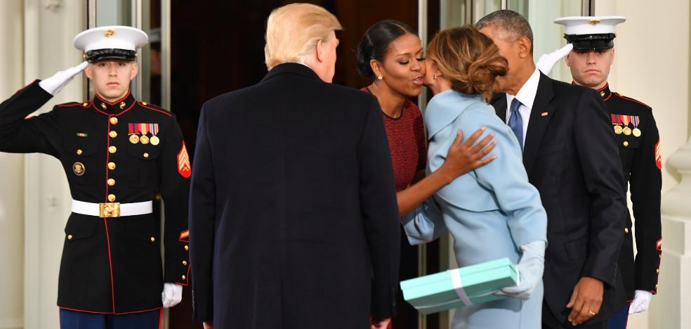 «Barack se queja de que no tiene sitio»
