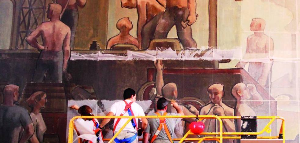 ¿Qué ha sido de los murales de la estación de tren de Logroño?
